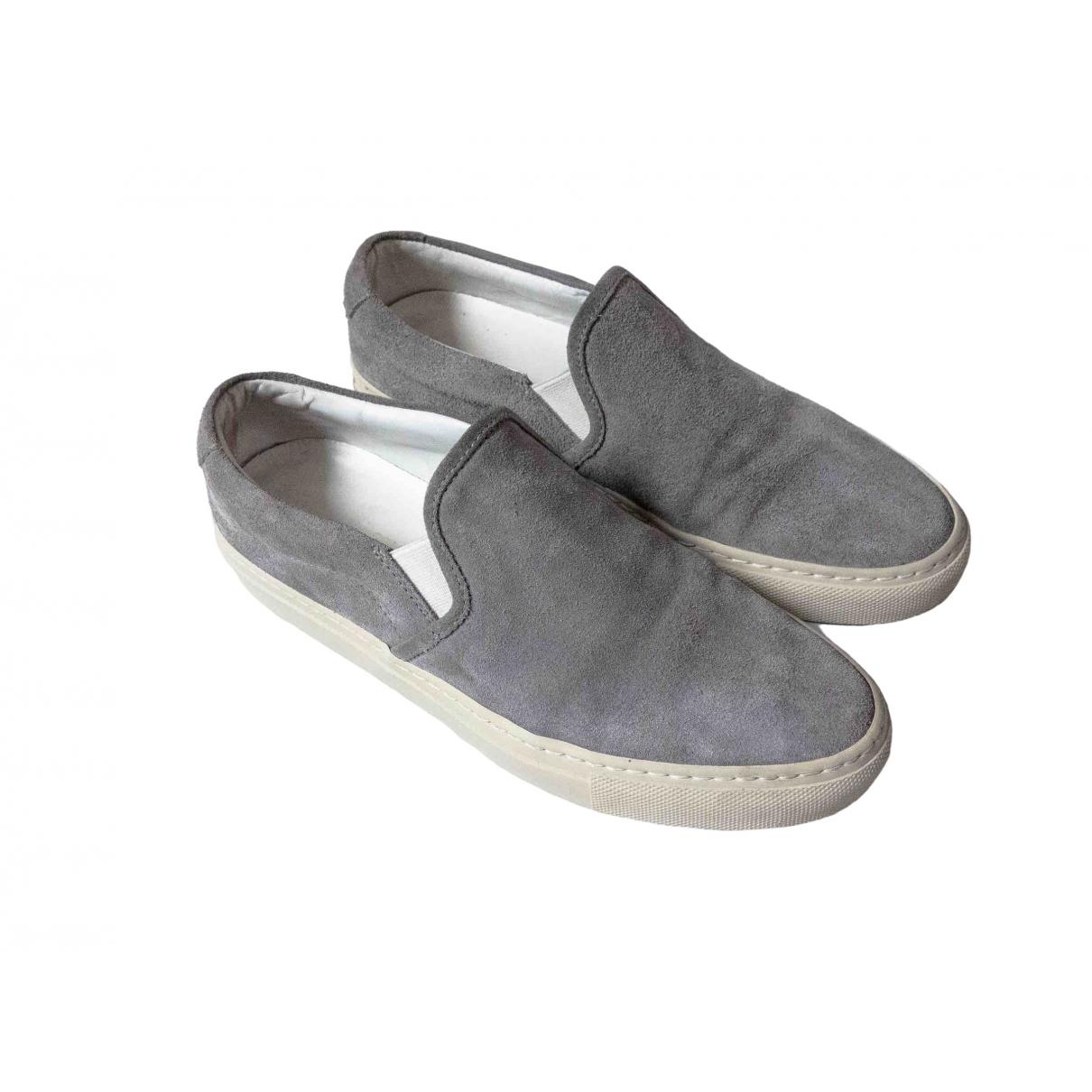 Common Projects \N Sneakers in  Grau Veloursleder