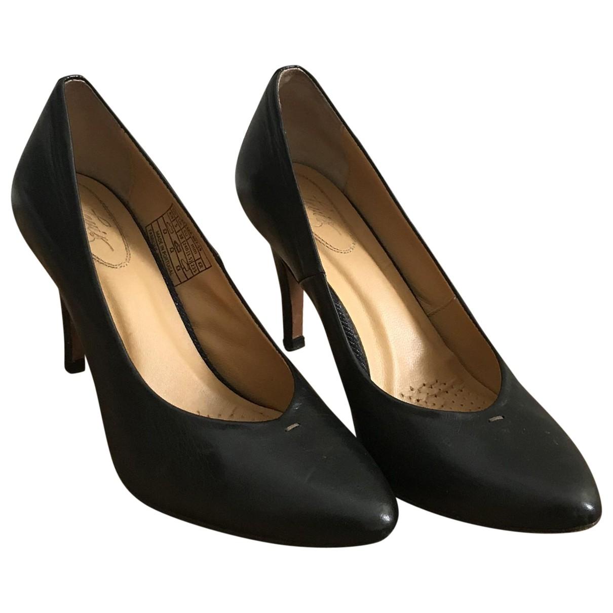 Levi's \N Black Leather Heels for Women 38 EU