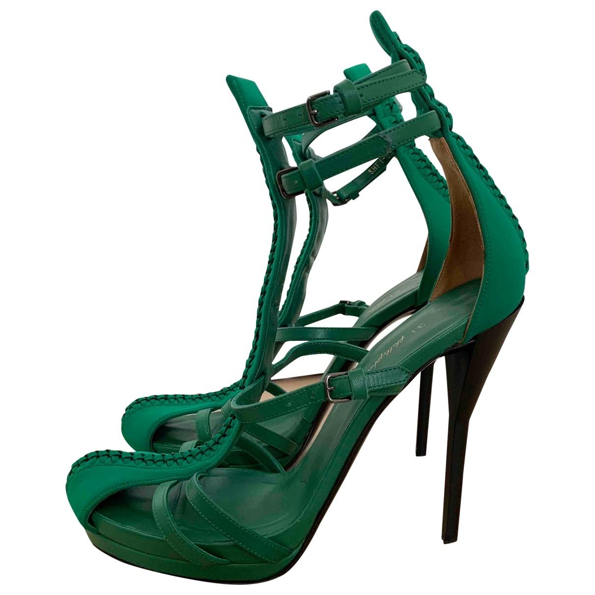 3.1 Phillip Lim - Sandales   pour femme en cuir - vert