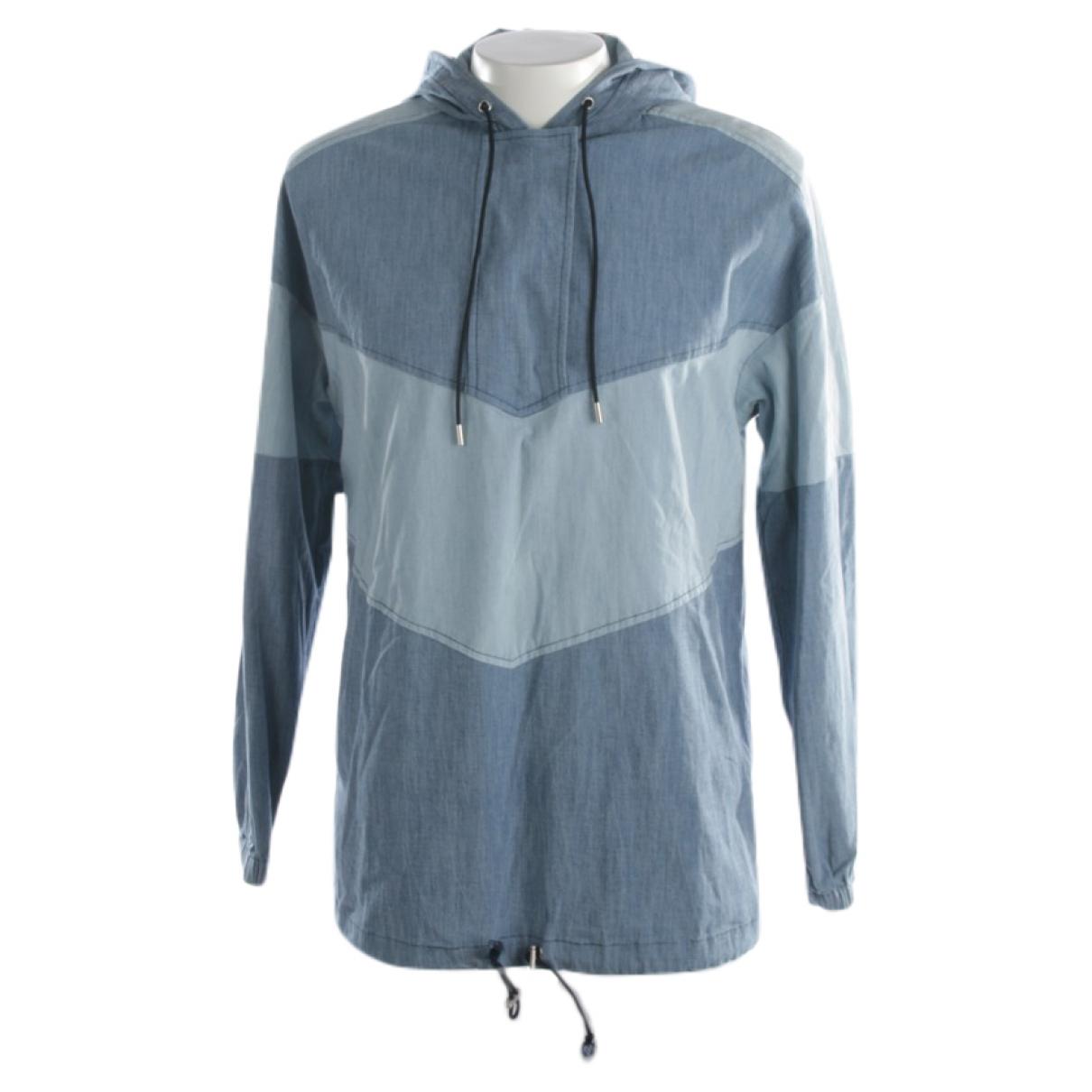 Ag Jeans \N Jacke in  Blau Baumwolle