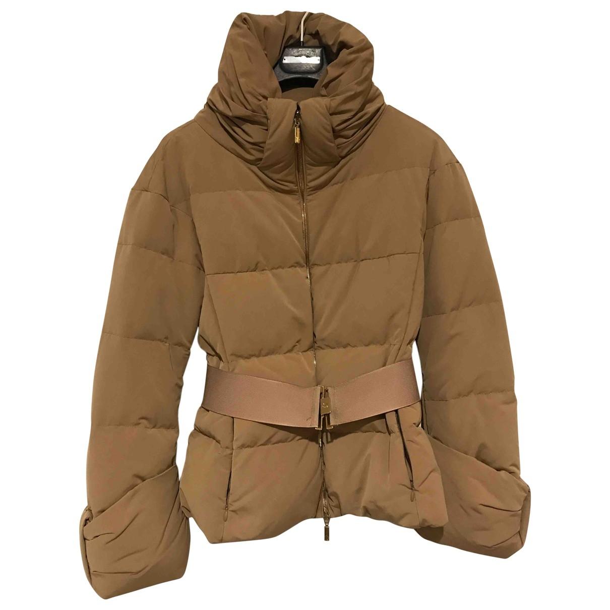 Moncler - Manteau   pour femme - beige