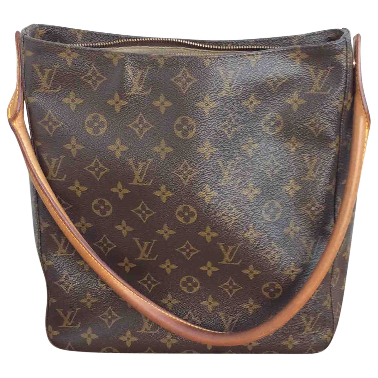 Louis Vuitton Looping Brown Cloth handbag for Women \N