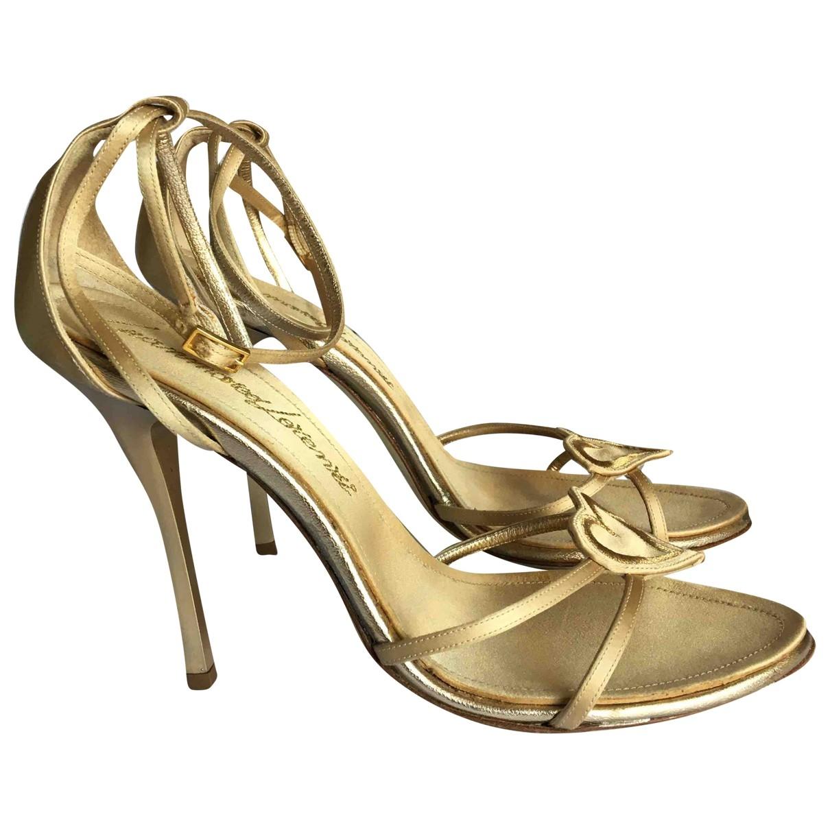 Sandalias de Lona Gianmarco Lorenzi