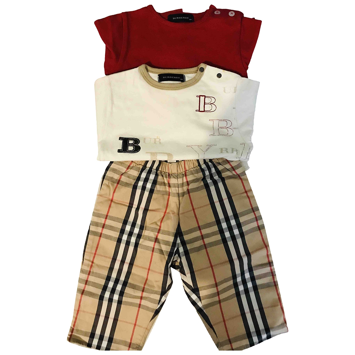 Burberry \N Multicolour Cotton Outfits for Kids 6 months - up to 67cm FR