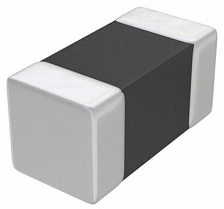 Murata , LQG15HS, 1005 Wire-wound SMD Inductor with a Non-Magnetic Ceramic Core, 22 nH ±5% Multilayer 300mA Idc Q:8 (500)
