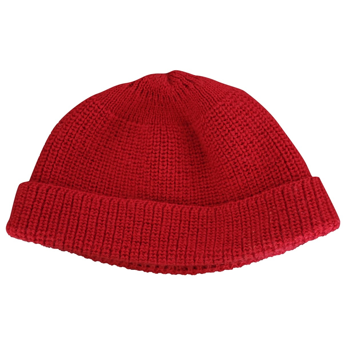 Non Signé / Unsigned \N Red Wool hat for Women S International