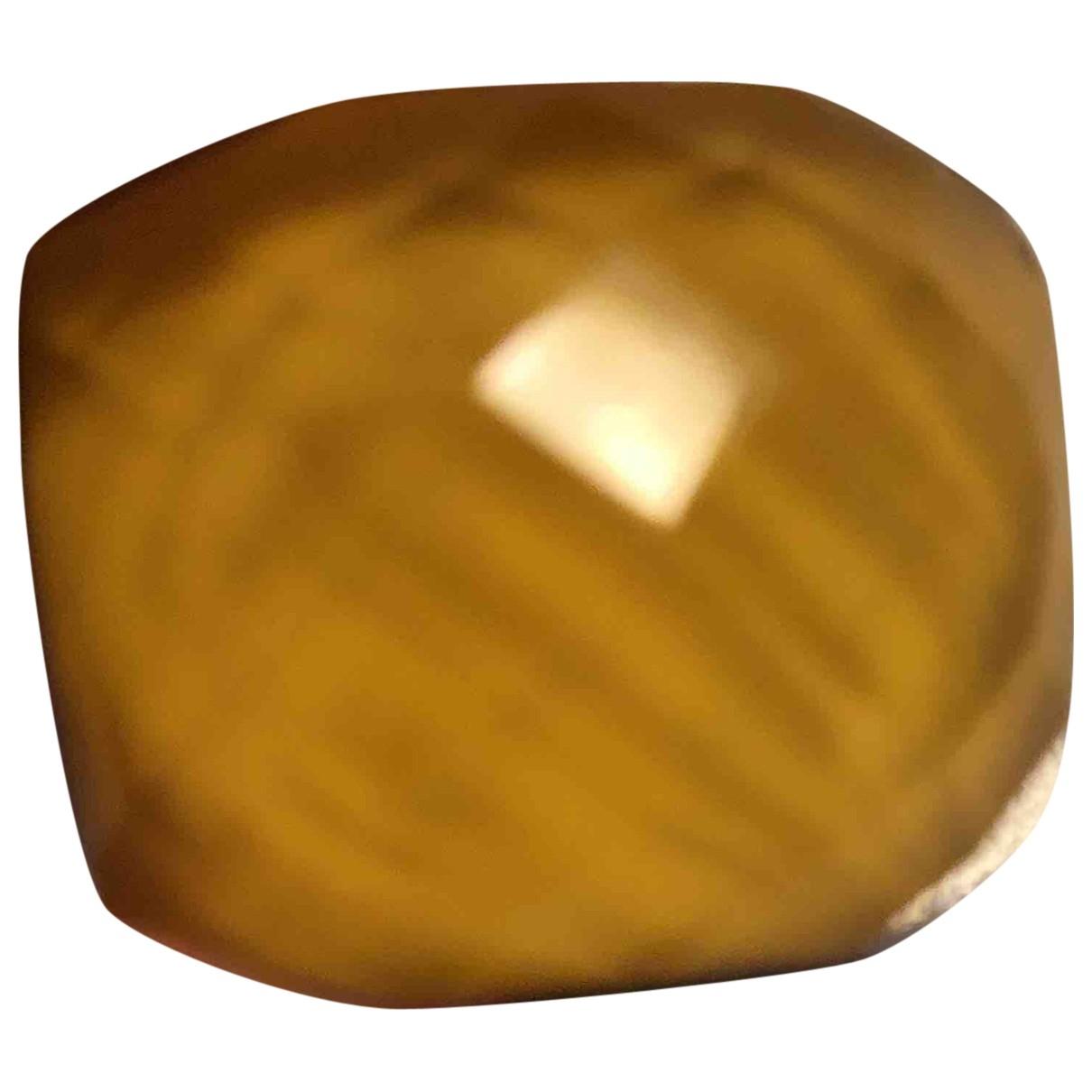 Swarovski Nirvana Yellow Metal ring for Women 55 MM