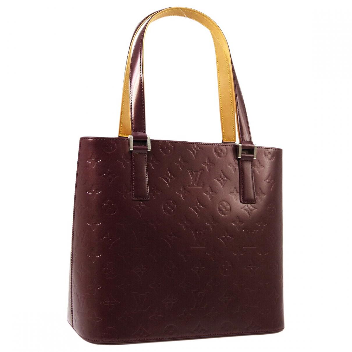 Louis Vuitton Stockton Burgundy Leather handbag for Women \N