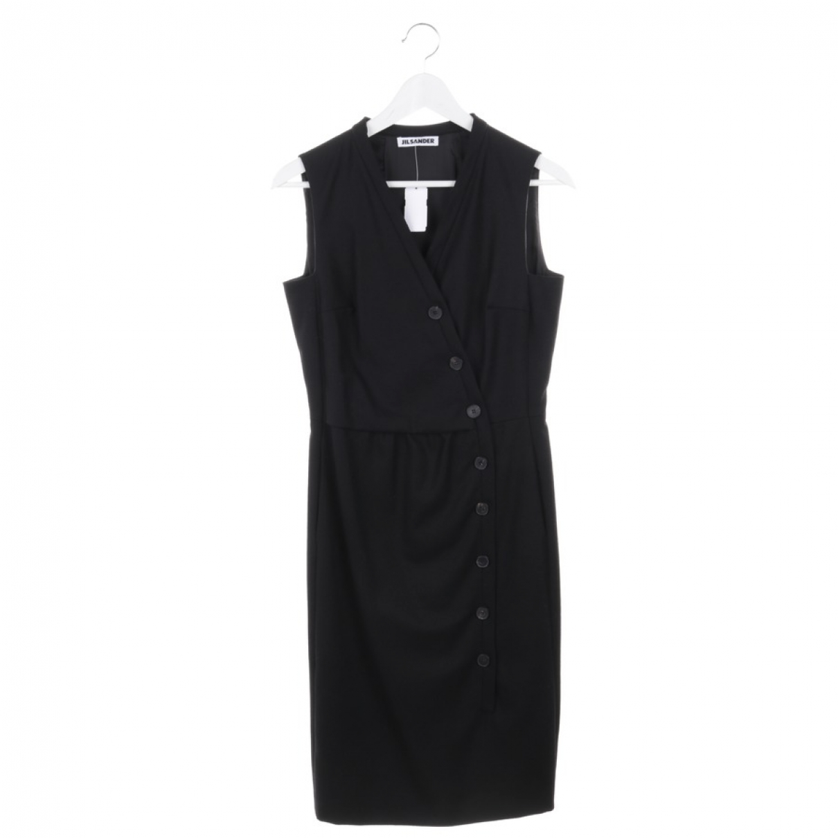 Jil Sander \N Black Wool dress for Women 36 FR