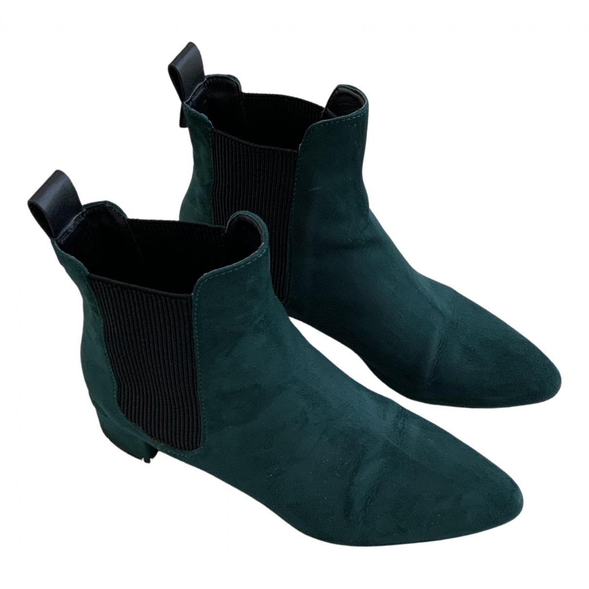 Botas de Terciopelo Zara