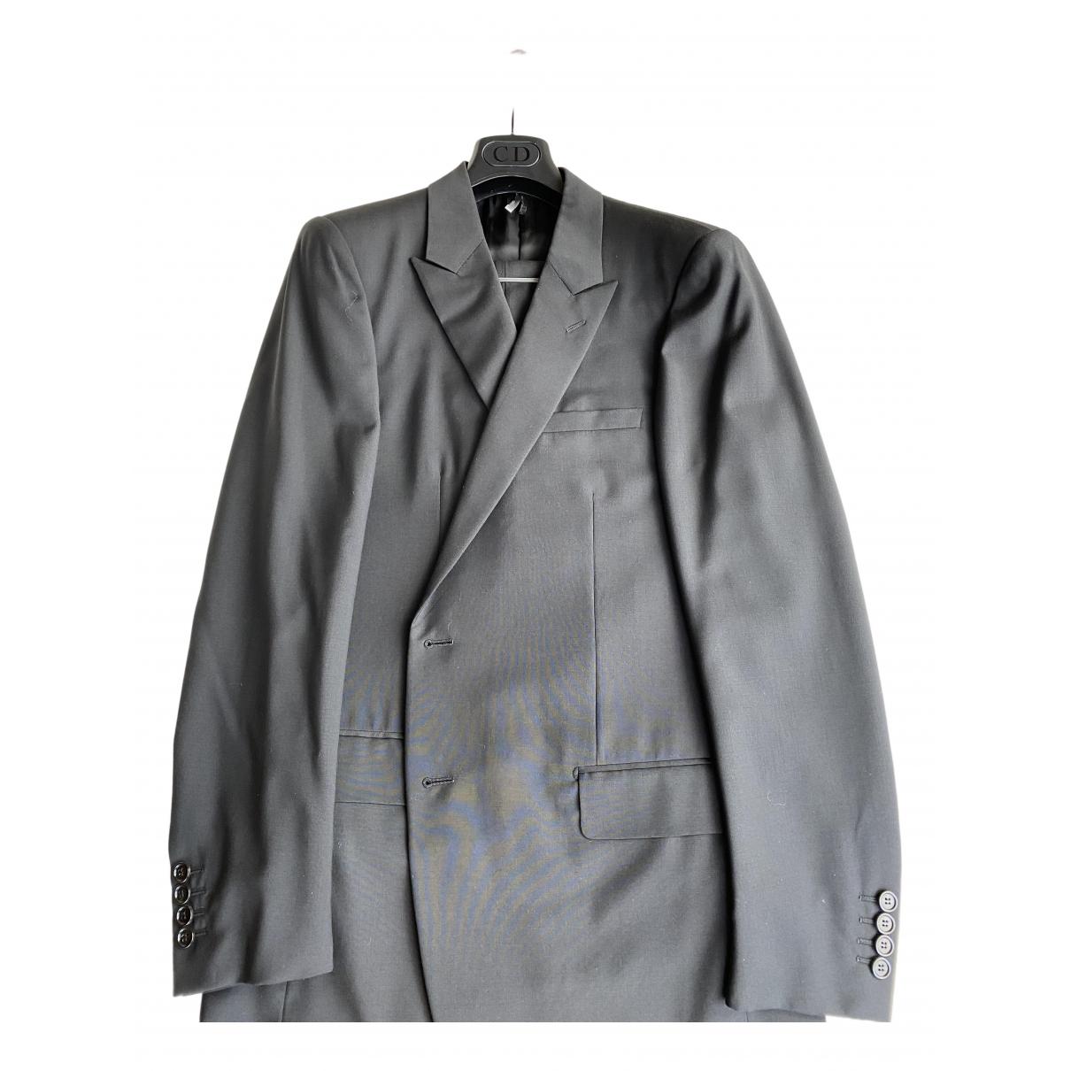 Dior Homme \N Anzuege in  Schwarz Wolle
