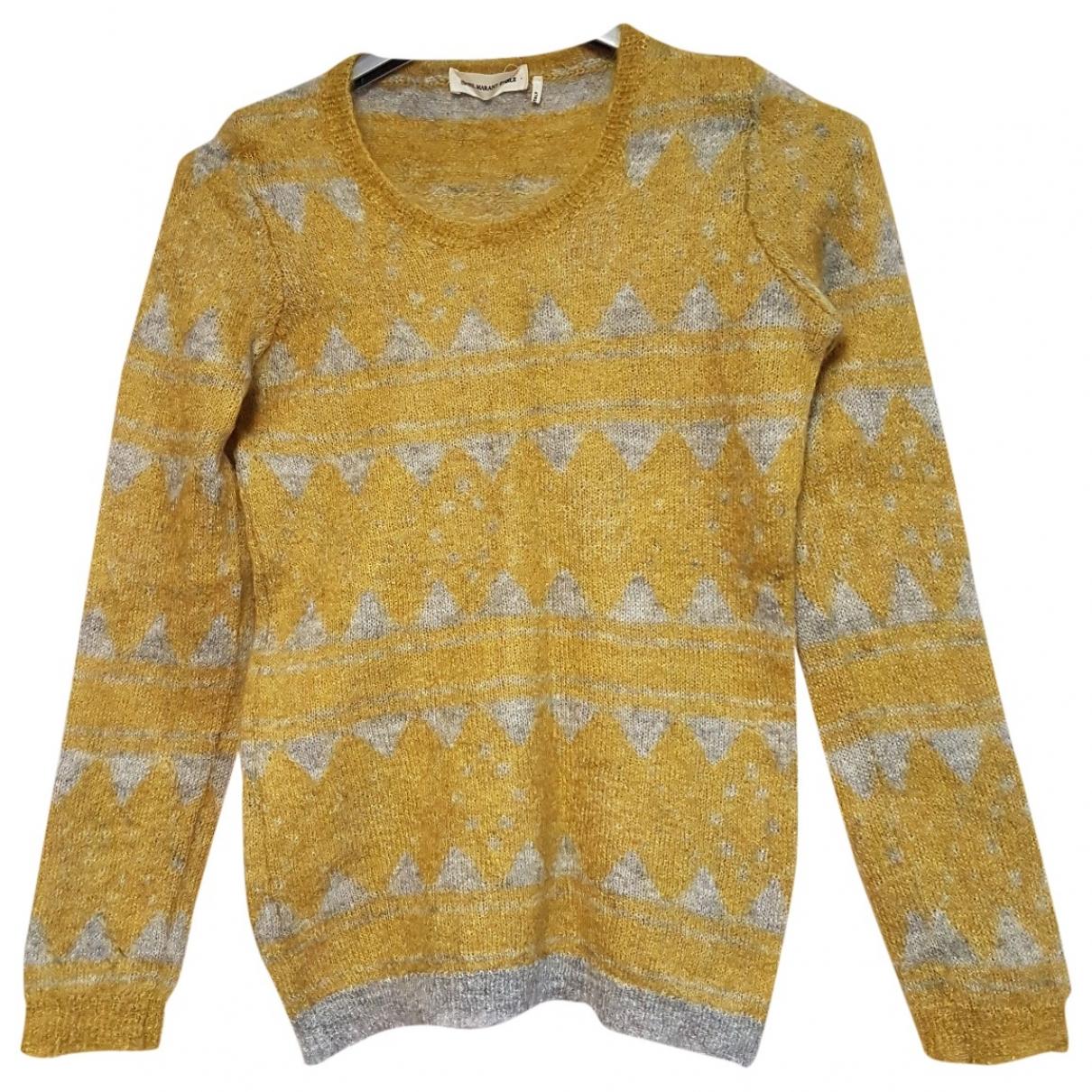 Isabel Marant Etoile - Pull   pour femme en laine - jaune