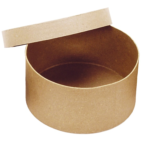 Paper Mache Round Box By Artminds™   Michaels®