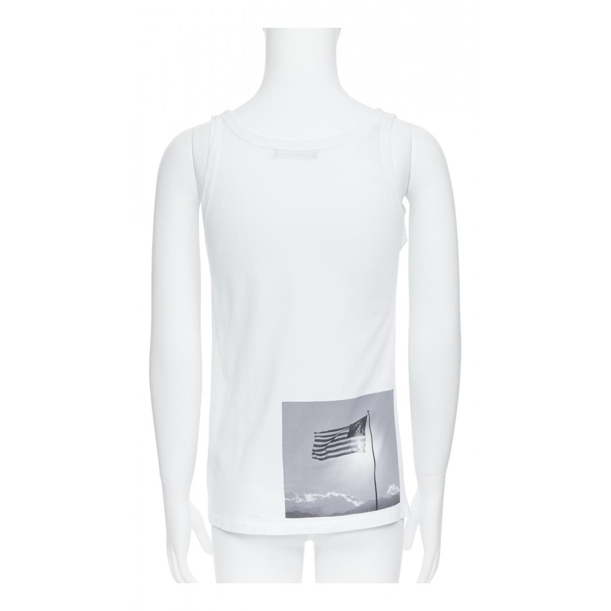 Raf Simons \N White Cotton T-shirts for Men S International