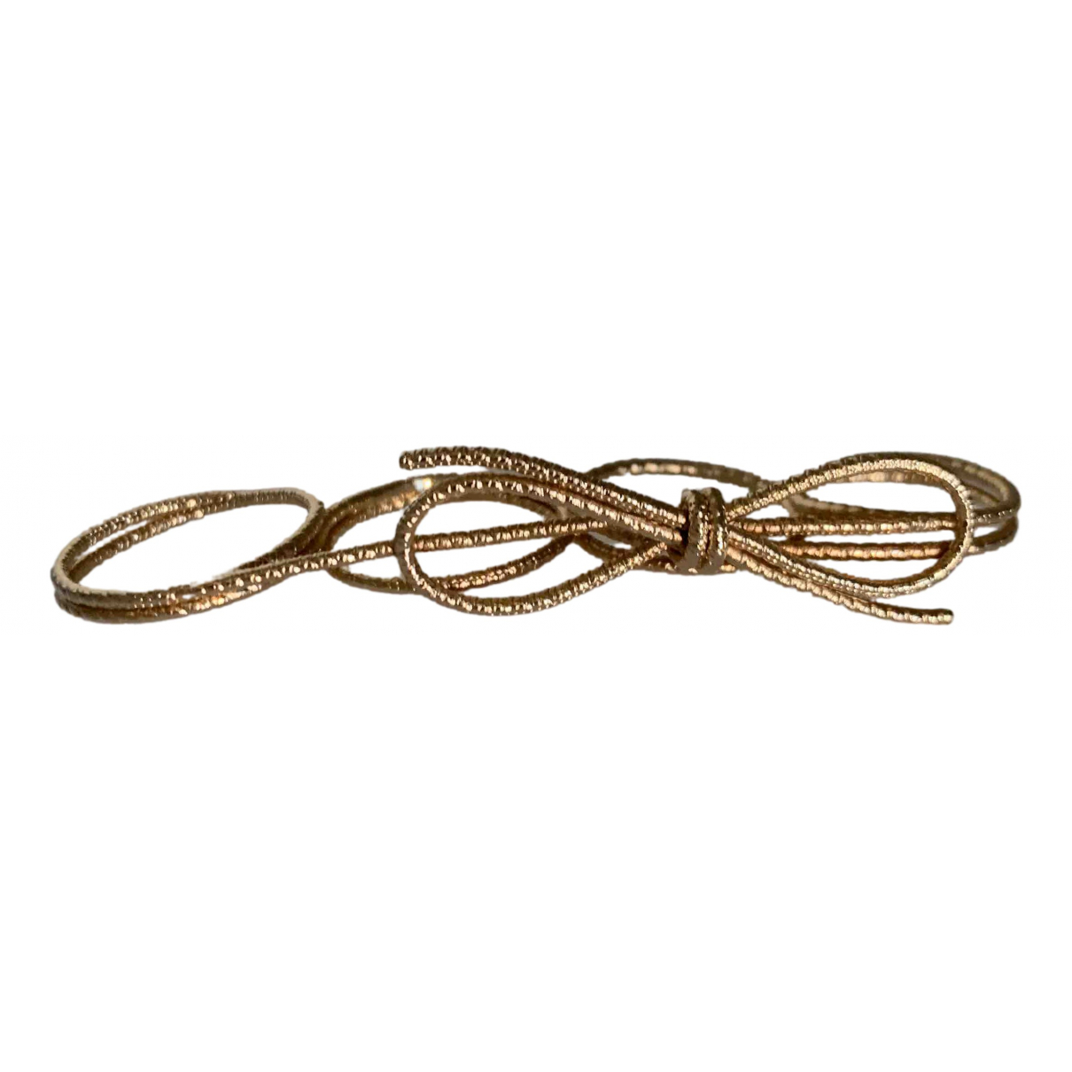 Dior \N Ring in  Gold Vergoldet
