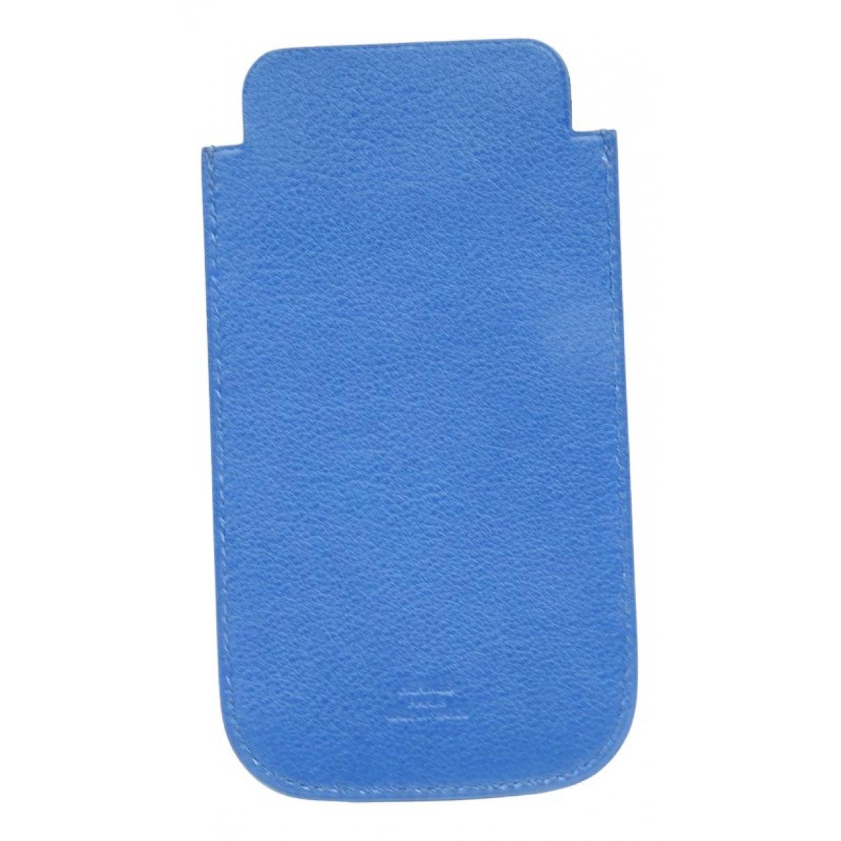 Hermes - Accessoires   pour lifestyle en cuir - bleu