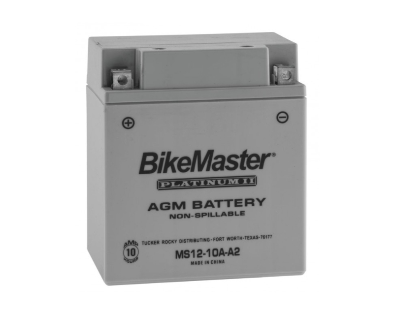 Bikemaster Platinum II Motorcycle Battery Ms12-14l-bs
