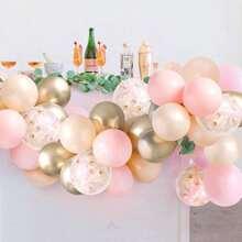 44 piezas set globo decorativo