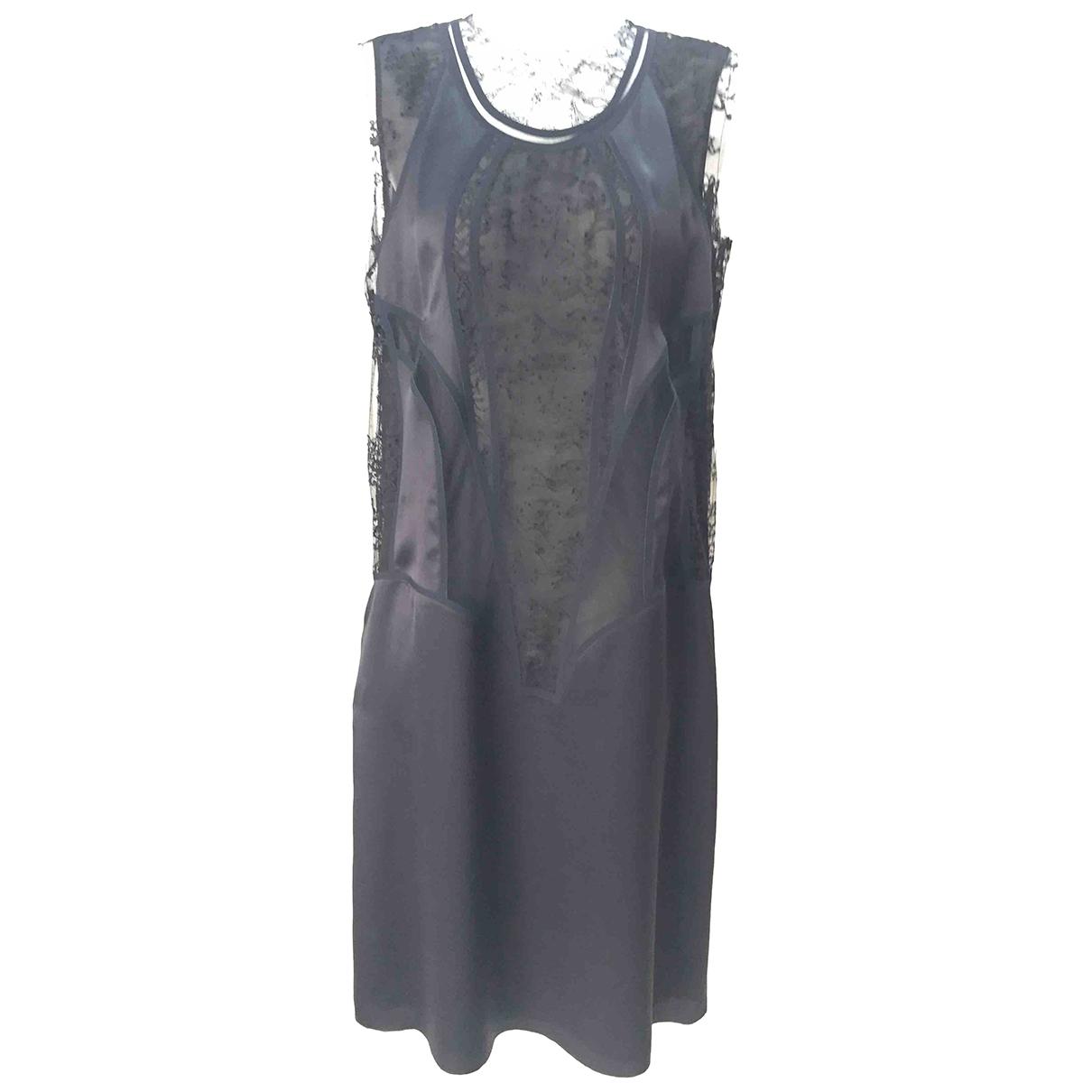 Maison Martin Margiela - Robe   pour femme en soie - noir