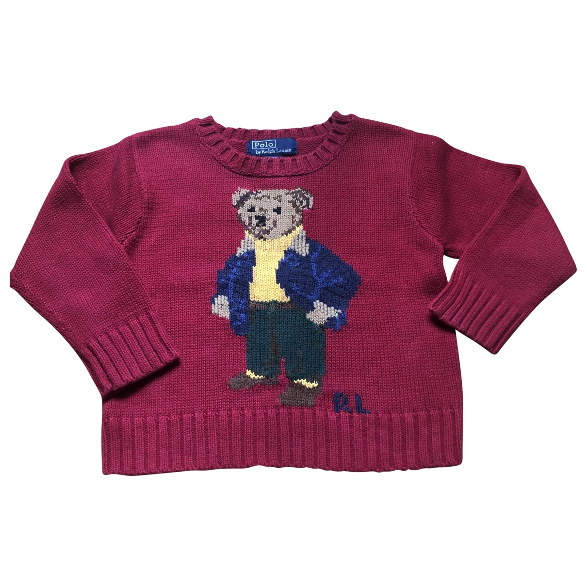 Polo Ralph Lauren \N Red Cotton Knitwear for Kids 2 years - up to 86cm FR