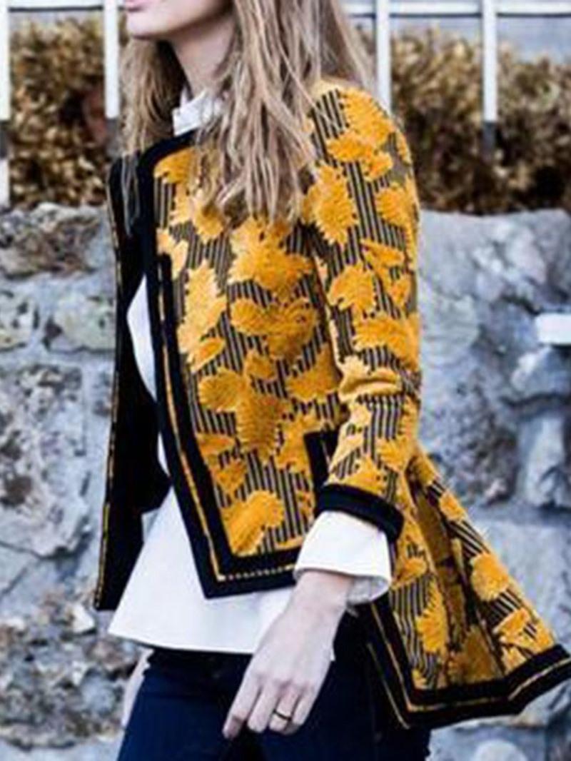 Ericdress Slim Three-Quarter Sleeve Regular Fall Jacket