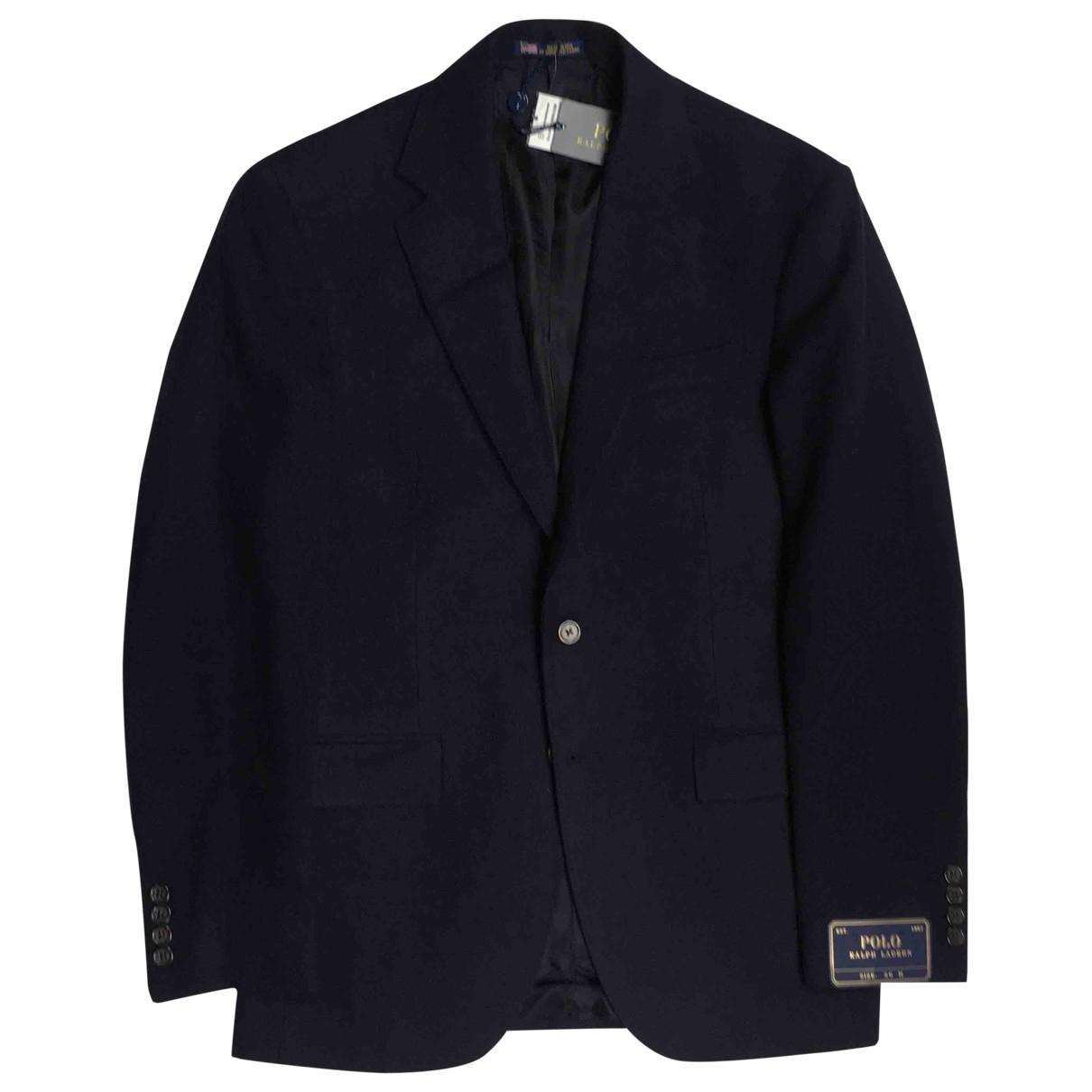 Polo Ralph Lauren \N Navy Cashmere jacket  for Men 44 UK - US