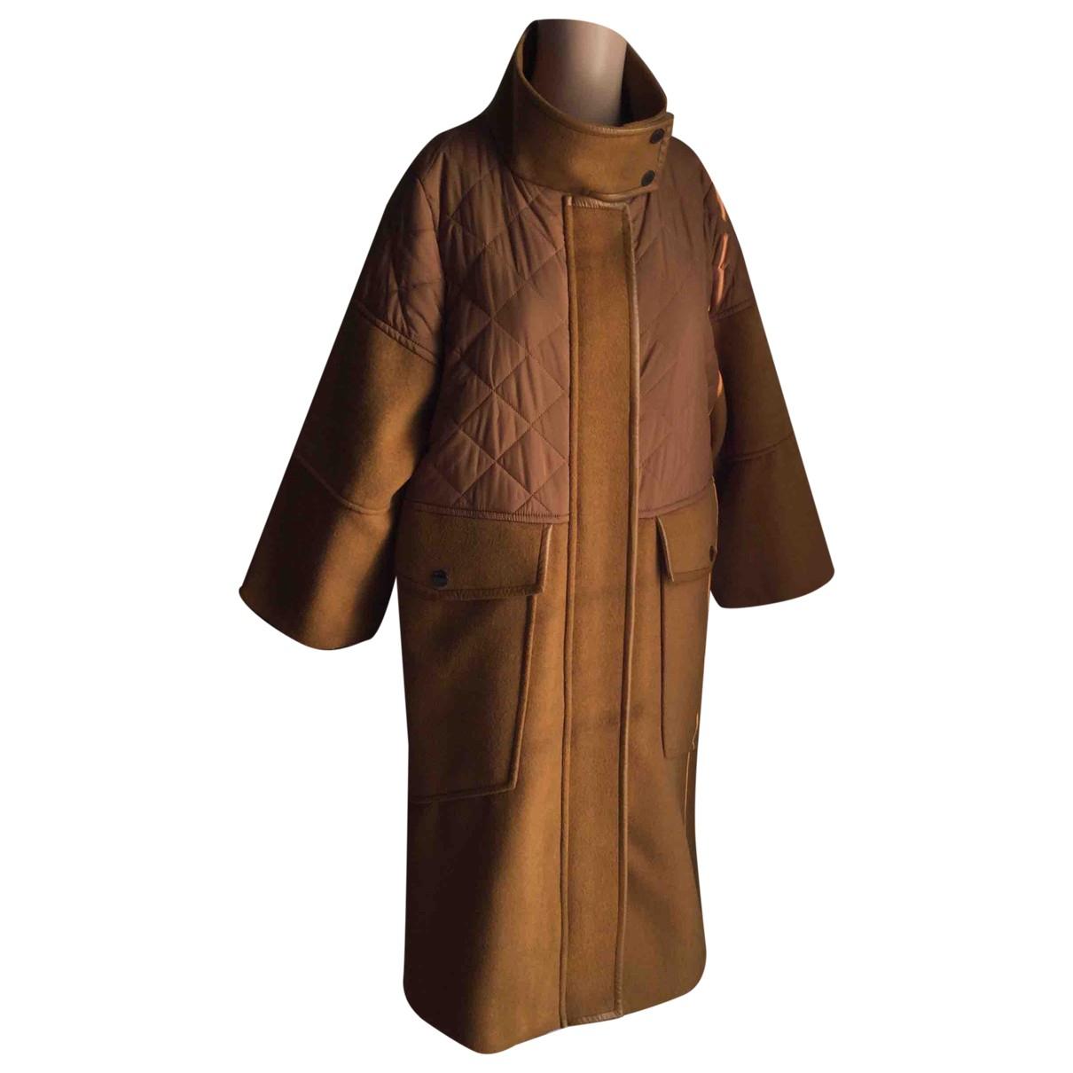 Max & Co - Manteau   pour femme en laine - kaki