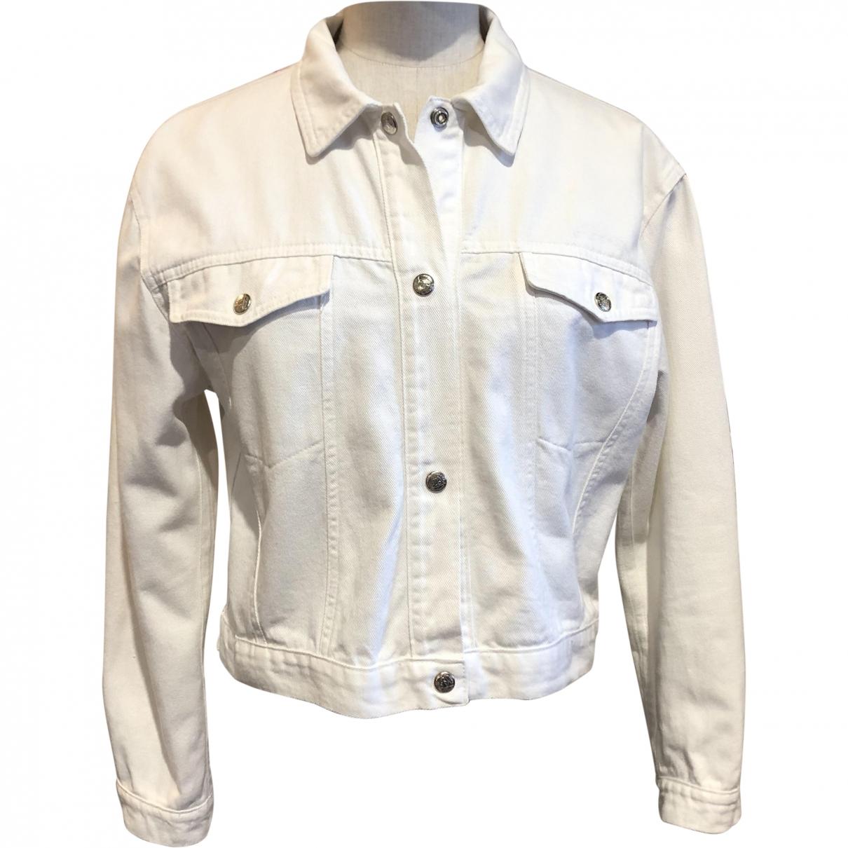 Roy Roger's \N White Denim - Jeans jacket for Women S International