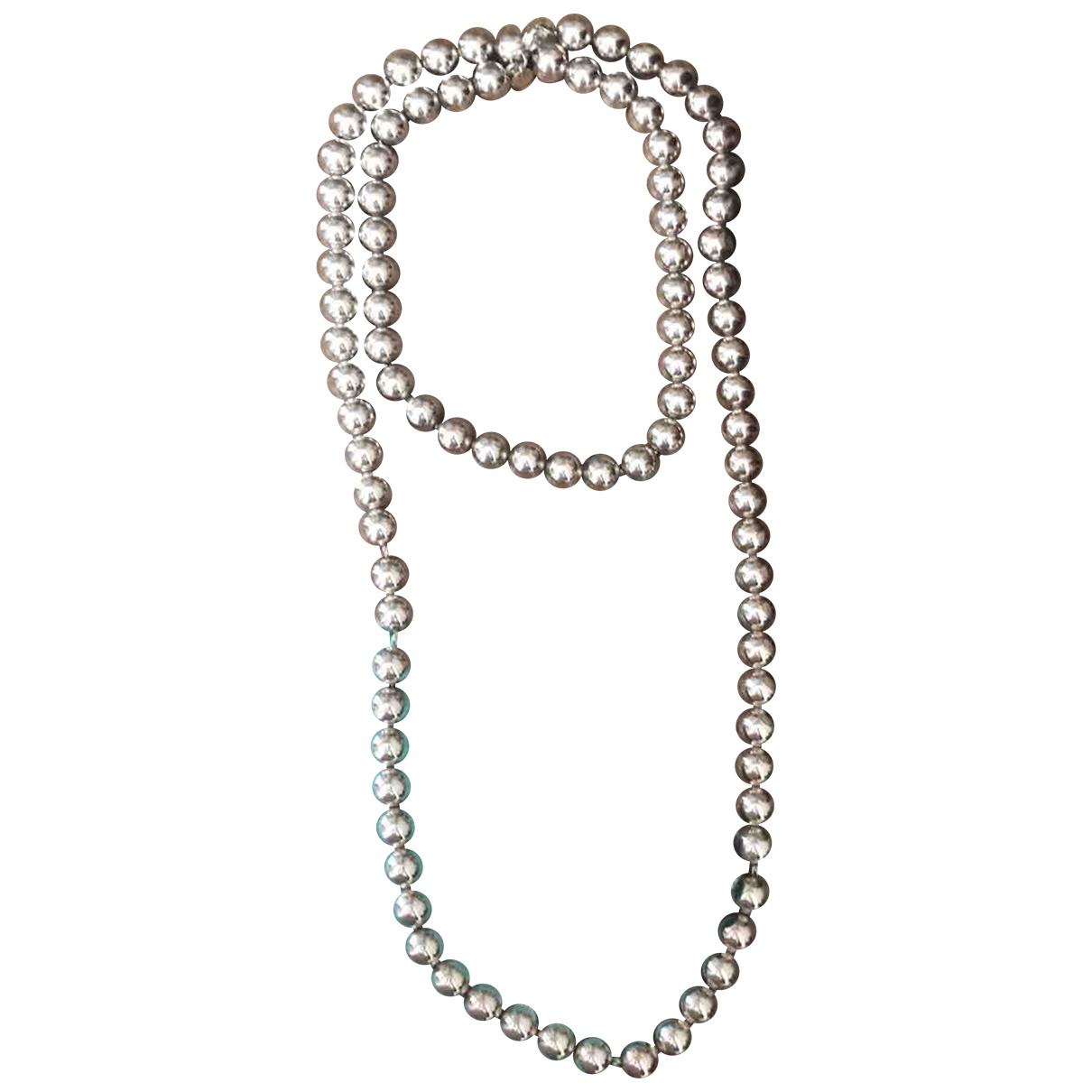 Chanel - Sautoir CHANEL pour femme en argent - argente