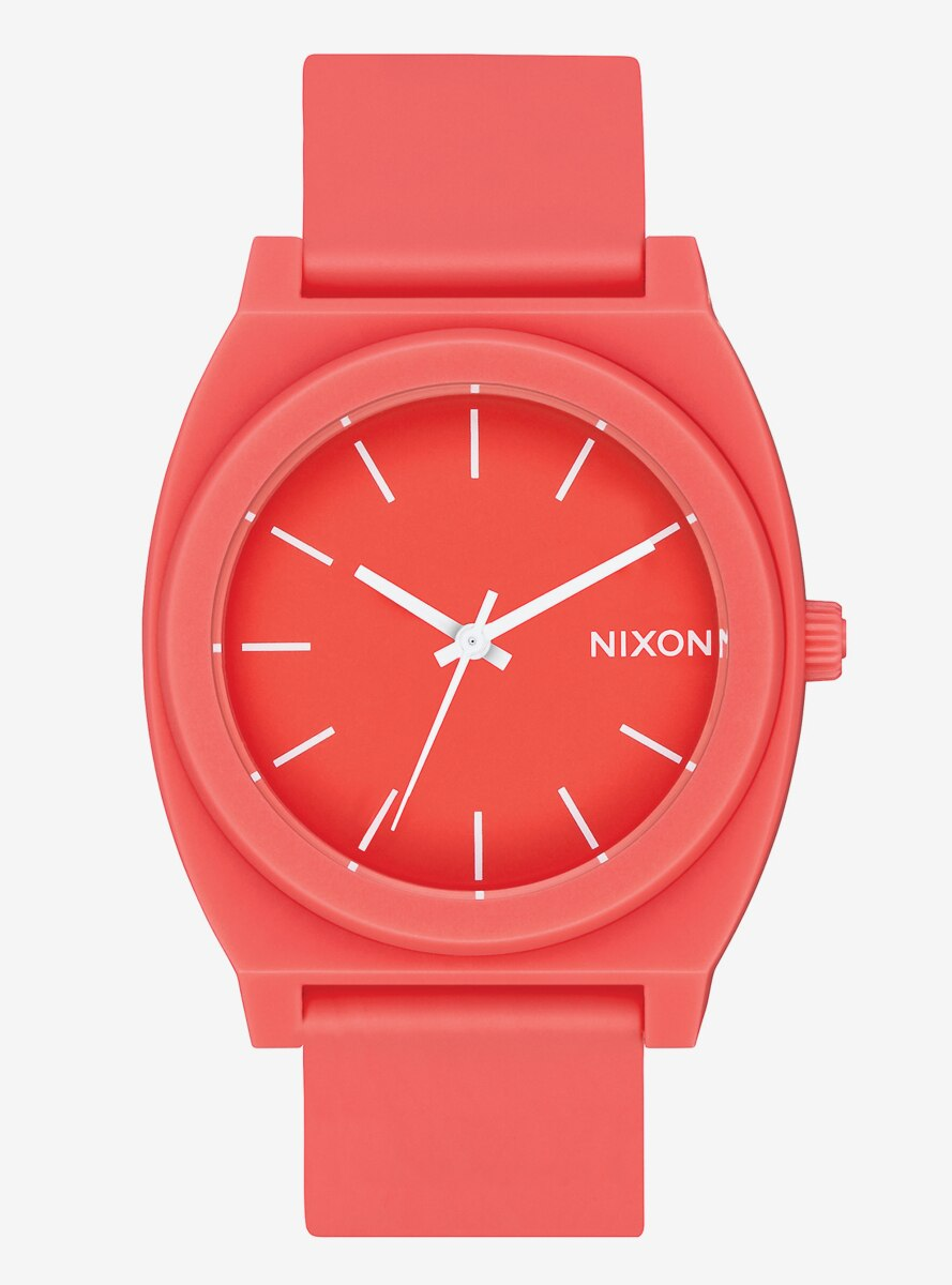 Nixon Time Teller P Matte Coral Watch