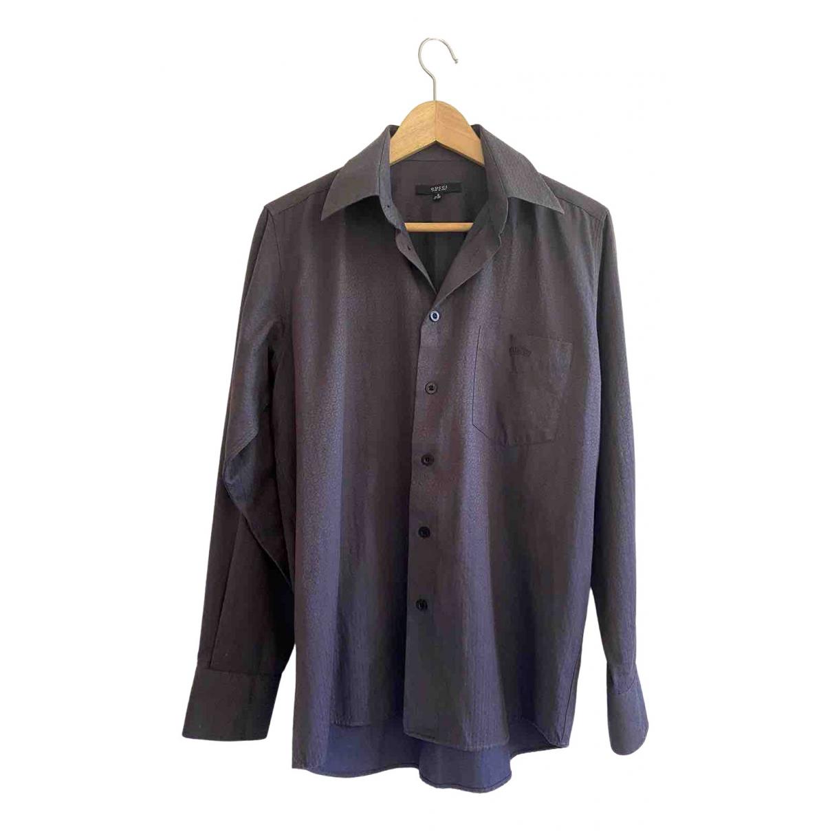 Gucci - Chemises   pour homme en coton - violet
