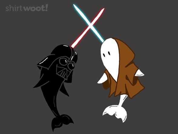Narth Vader Vs. Obi-whal T Shirt