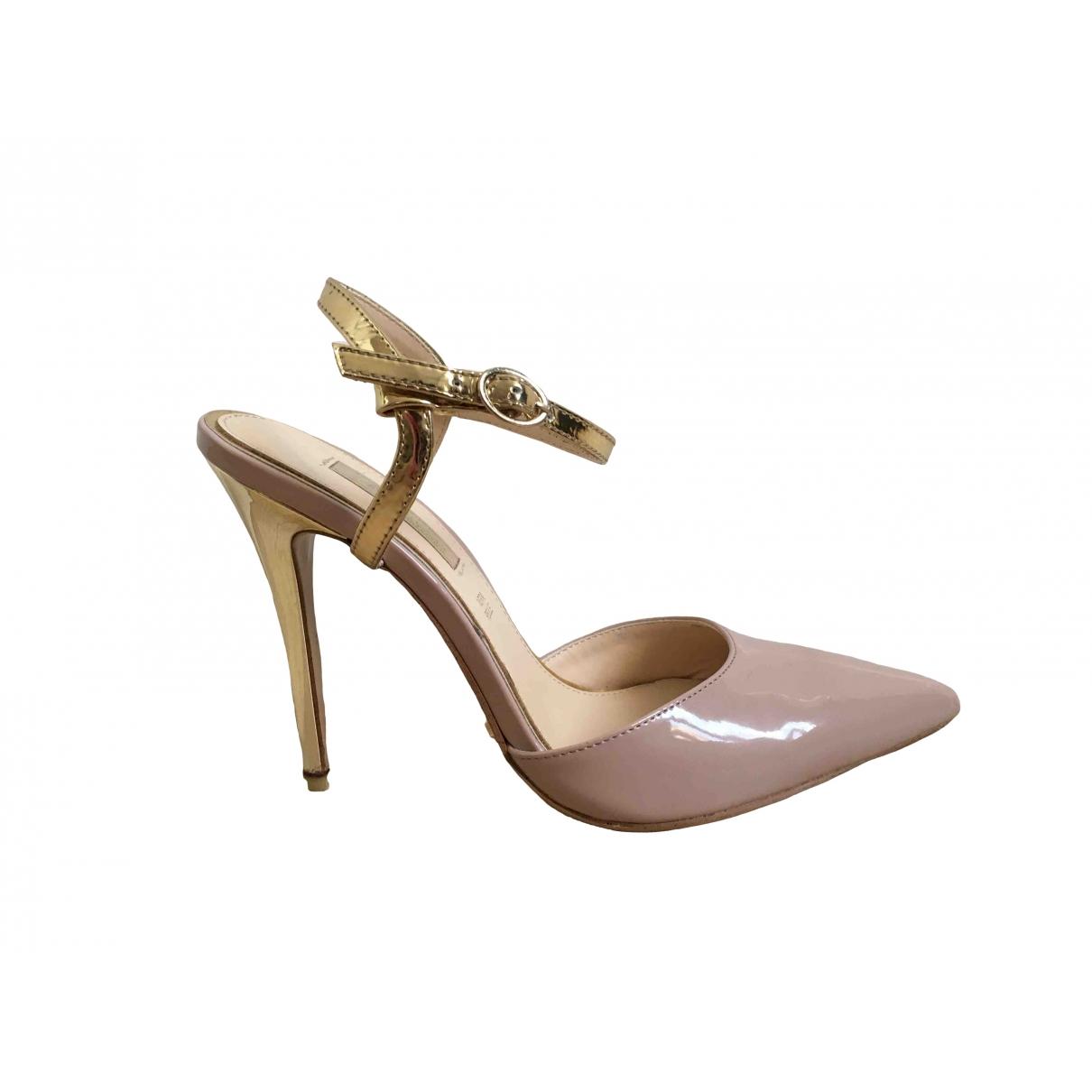 Non Signé / Unsigned \N Pink Leather Heels for Women 40 IT