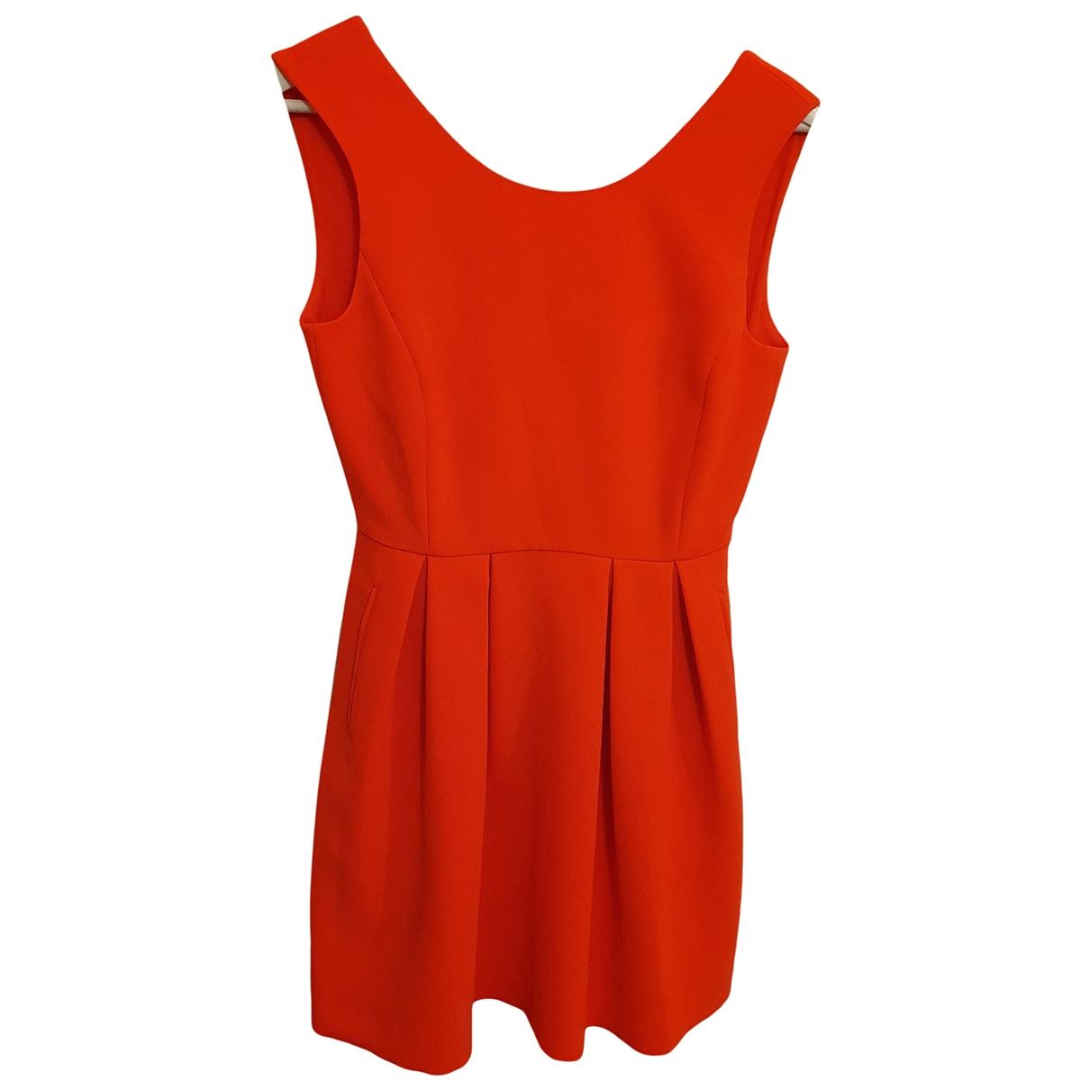 Claudie Pierlot \N Kleid in  Orange Polyester