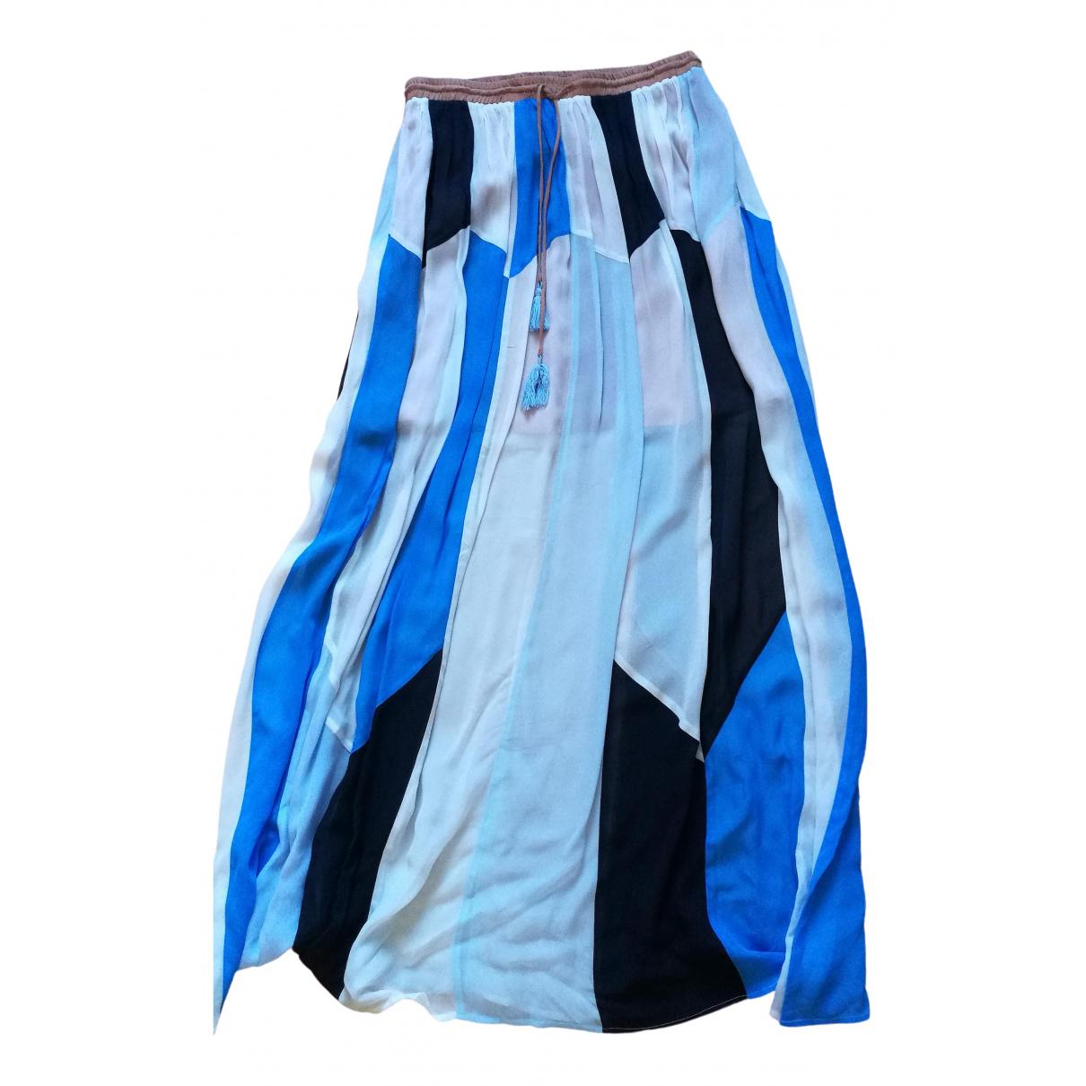 Twin Set \N Blue skirt for Women 44 IT