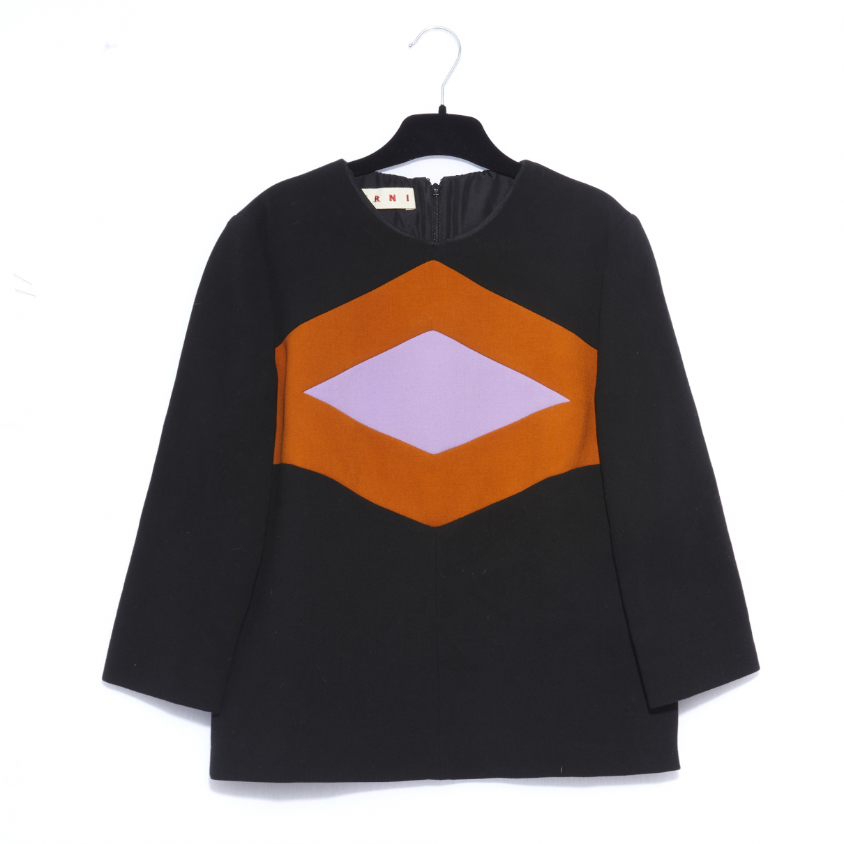 Marni \N Black Wool  top for Women 40 FR