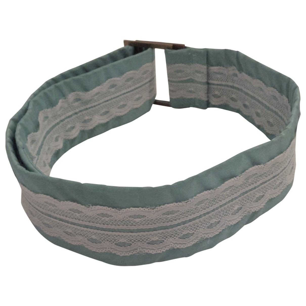 Non Signé / Unsigned \N Green belt for Women 95 cm