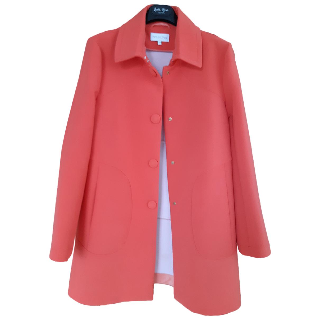 Patrizia Pepe N Orange jacket for Women 44 IT