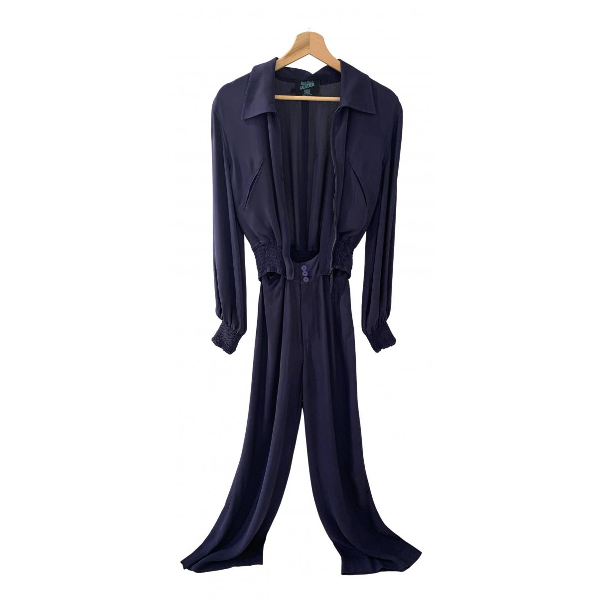 Jean Paul Gaultier - Combinaison   pour femme en soie - violet