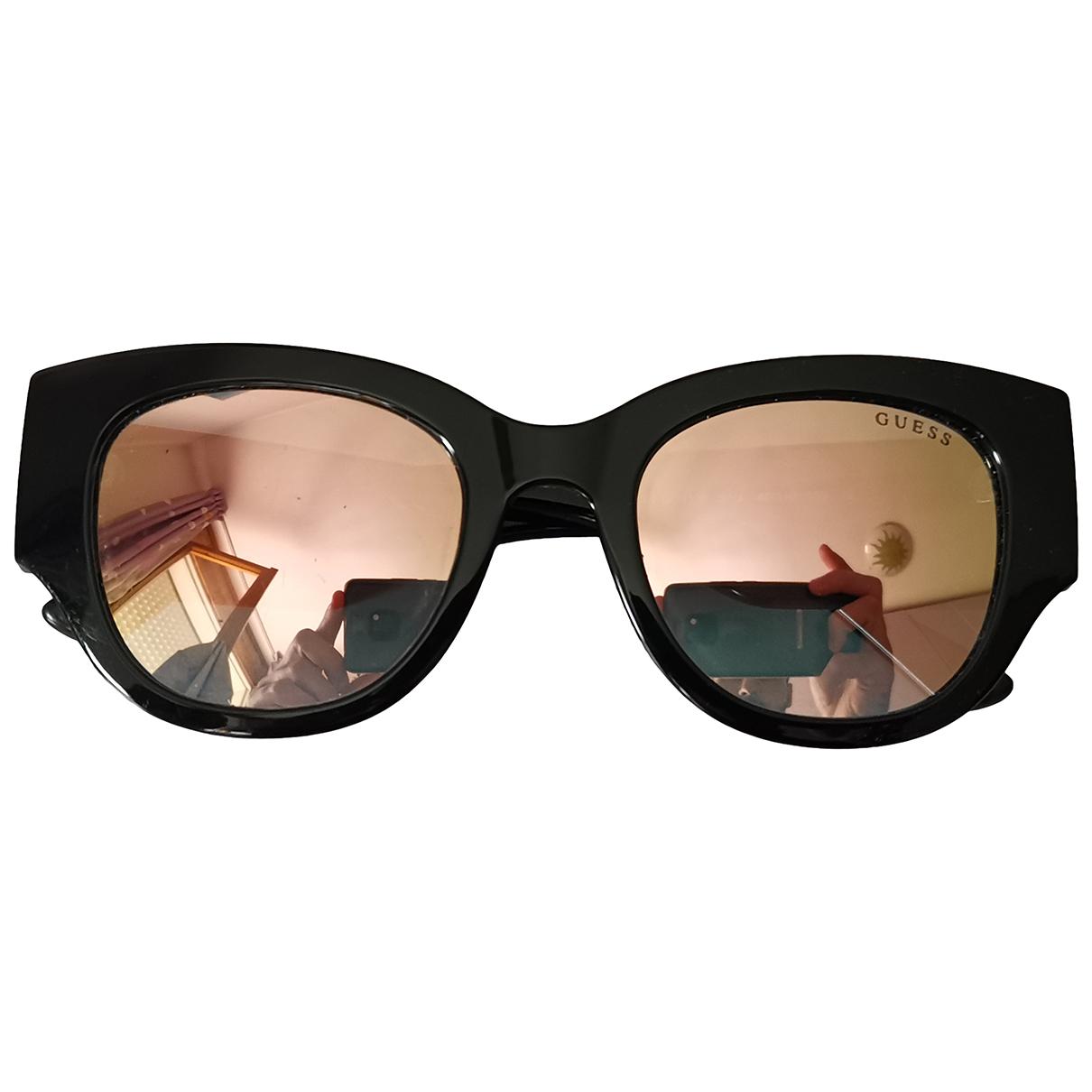 Guess \N Sonnenbrillen in  Schwarz Kunststoff