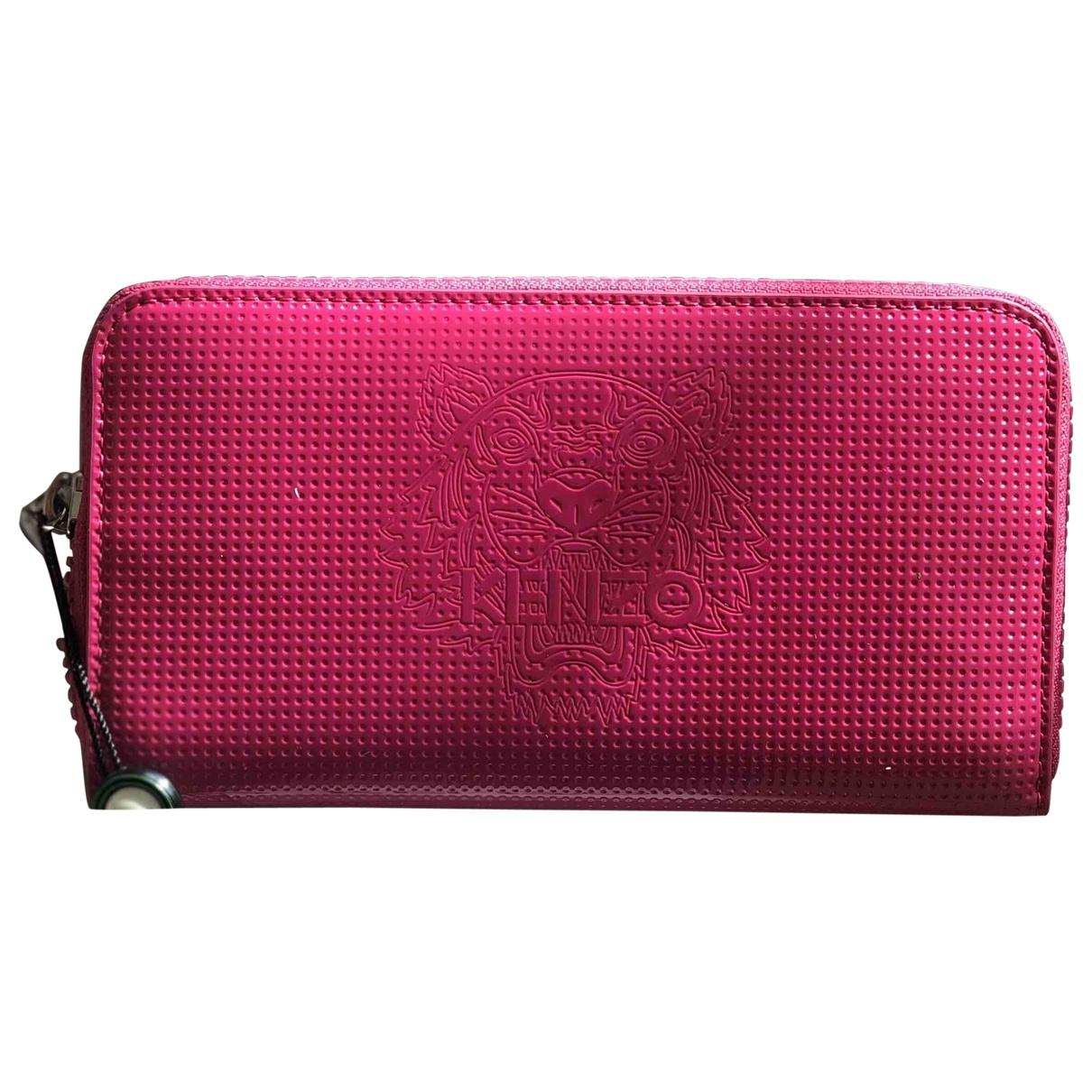 Kenzo \N Pink Leather wallet for Women \N