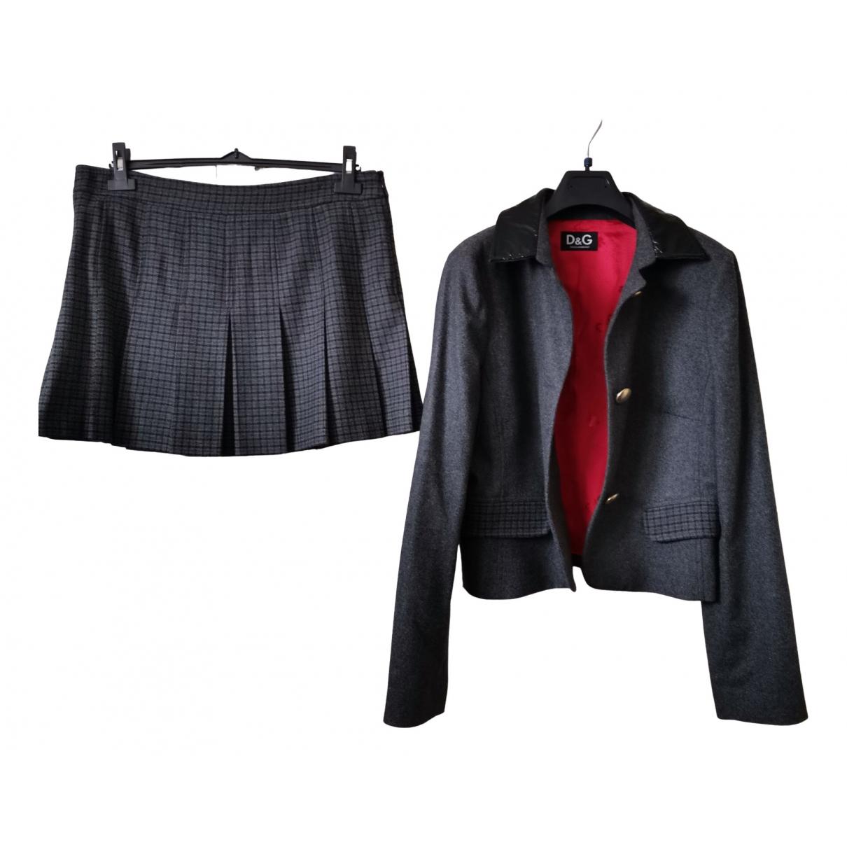 Dolce & Gabbana - Combinaison   pour femme en laine - gris