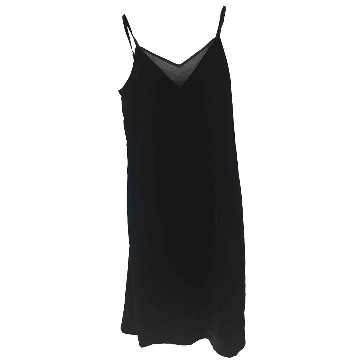 Elie Tahari \N Kleid in  Blau Samt