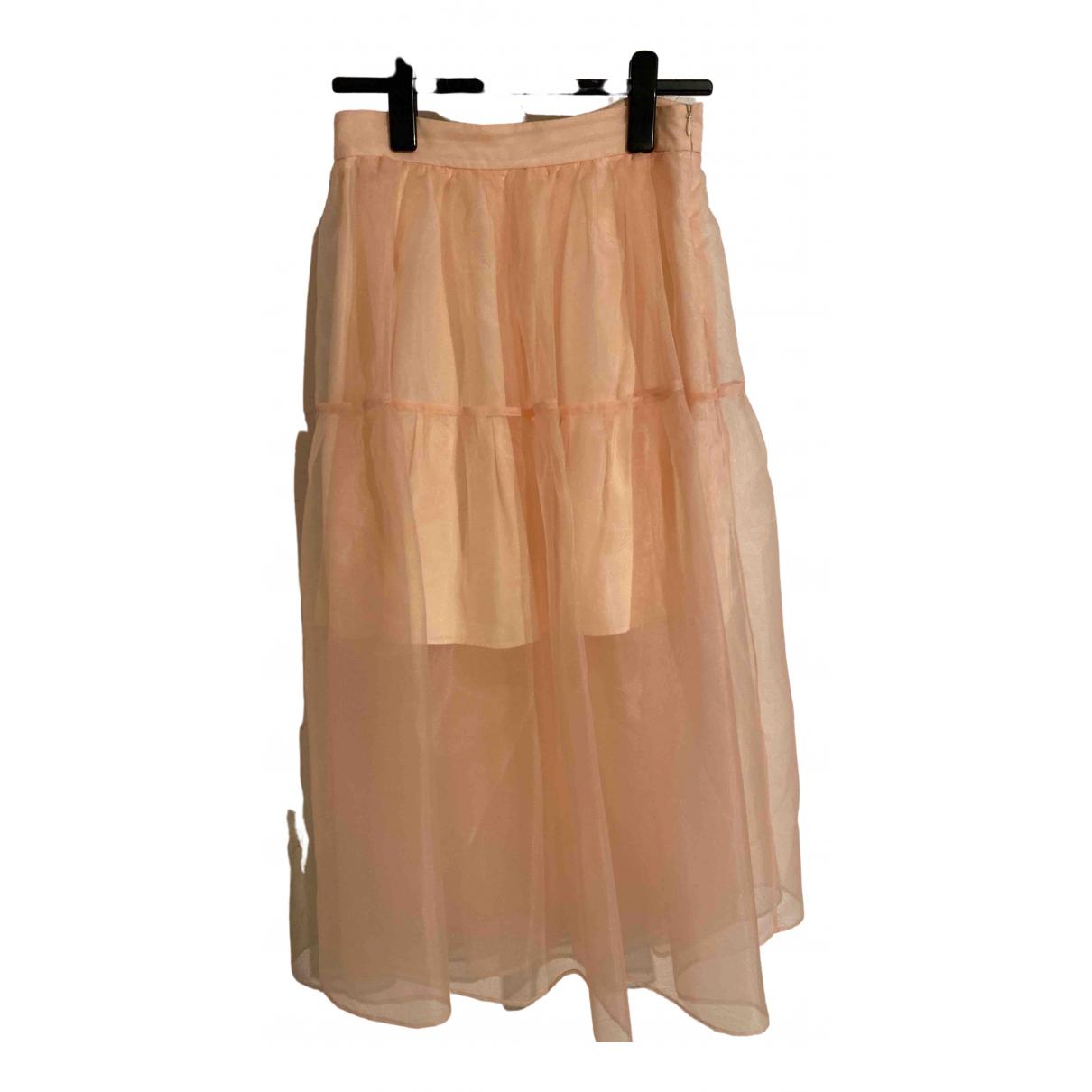 Maje Spring Summer 2019 Pink skirt for Women 40 FR