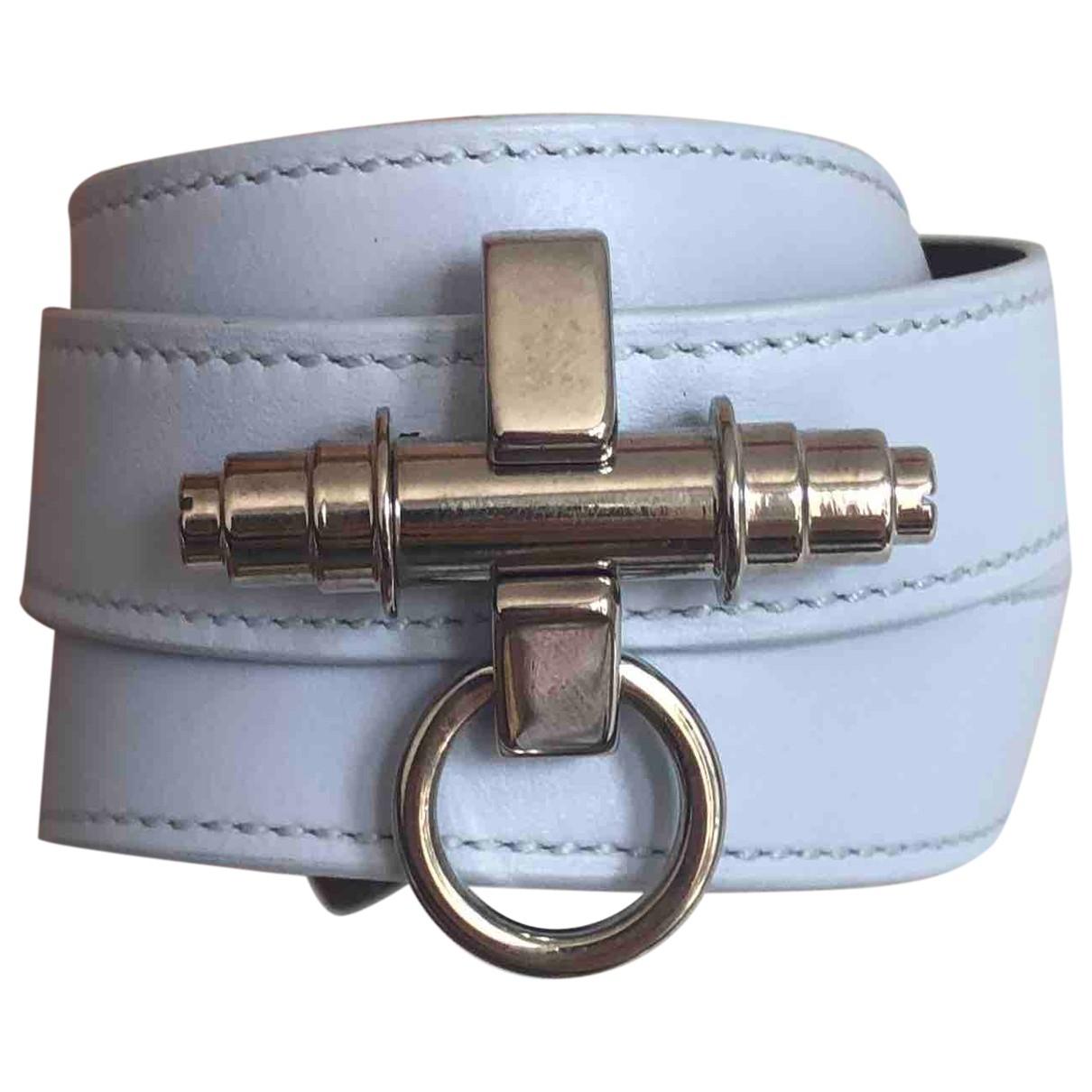 Givenchy - Bracelet Obsedia pour femme en cuir - bleu