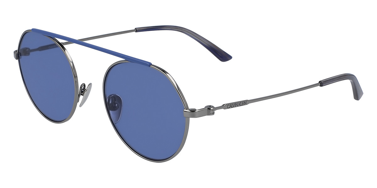CK 19149S 009 Men's Sunglasses Grey Size 51