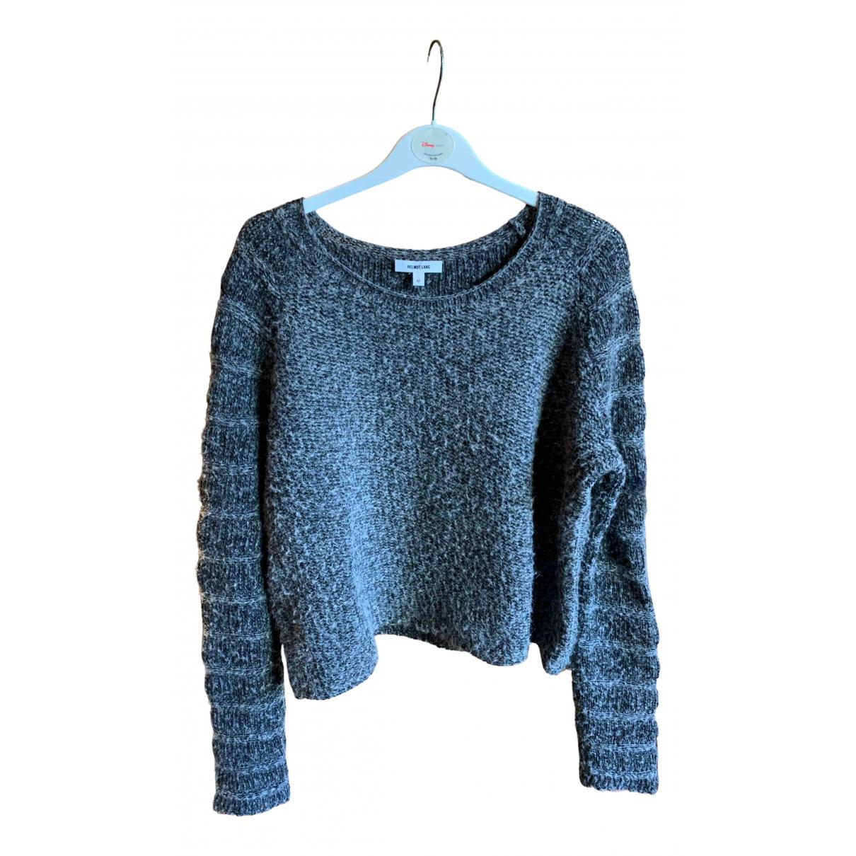Helmut Lang - Pull   pour femme en laine - gris