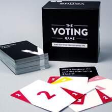 260 Blaetter Abstimmungsspielkarte