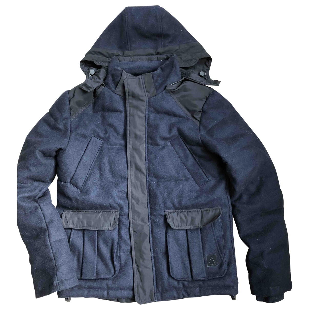 Eleven Paris \N Navy Wool coat  for Men L International