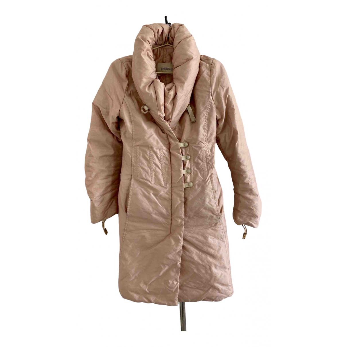 Ermanno Scervino N Pink coat for Women 38 IT